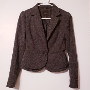 The Limited Single Button Blazer